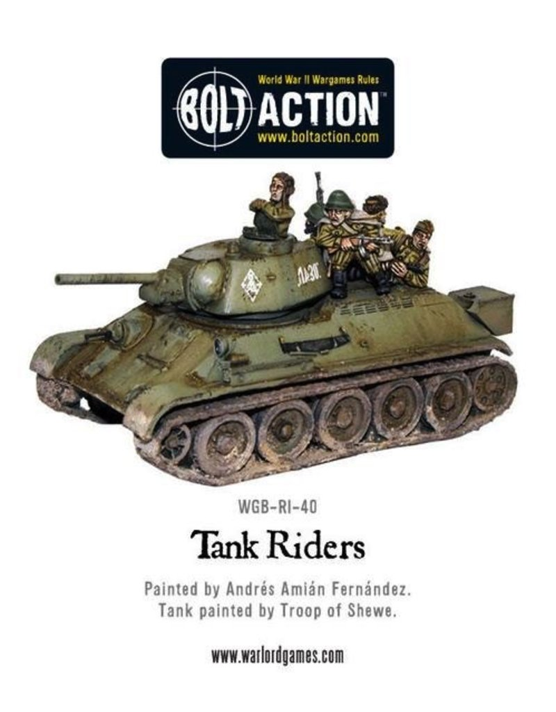 Bolt Action BA Soviet Army: Tank Riders (4)