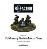Bolt Action BA Polish Army: Medium Mortar Team