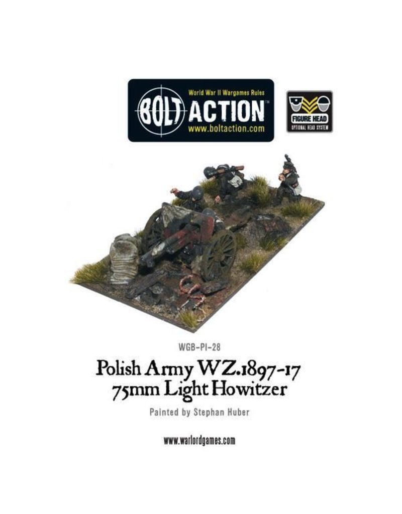 Bolt Action BA Polish Army: 75mm  Light Artillery