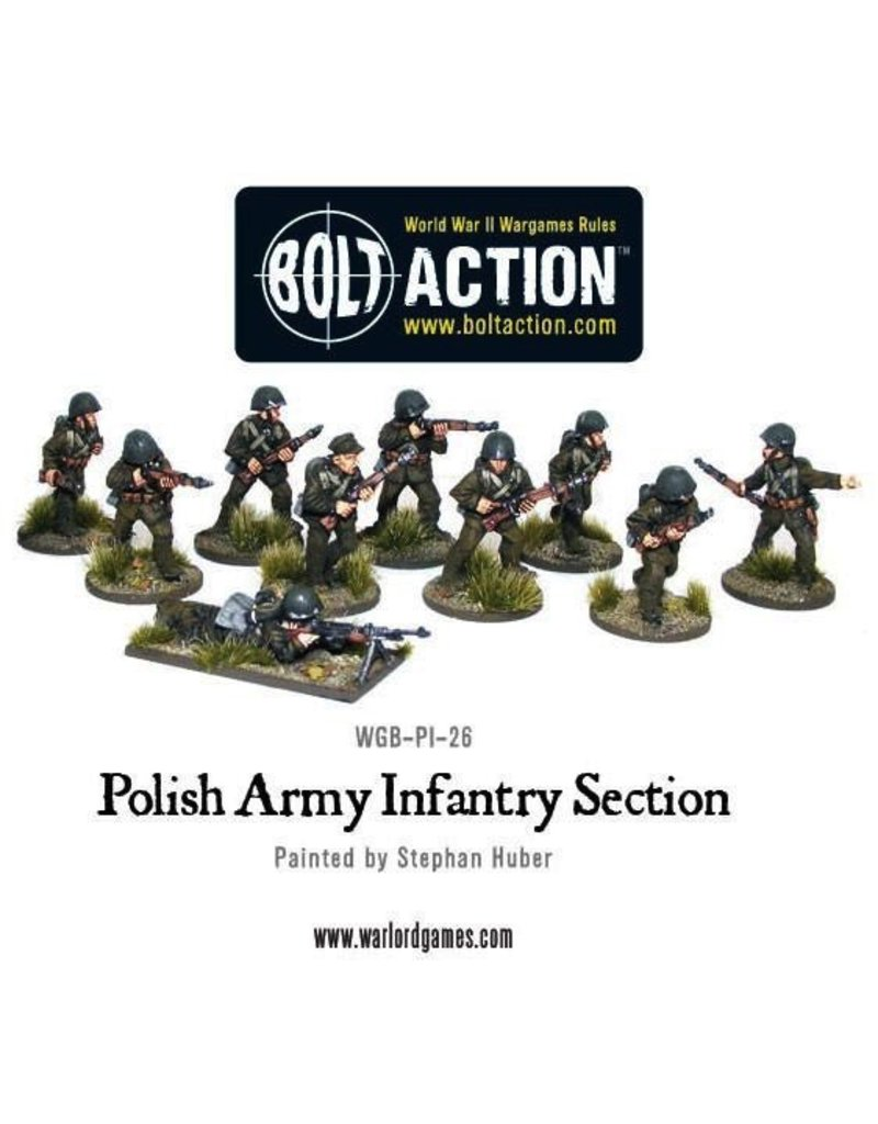 Bolt Action BA Polish Army: Infantry Section