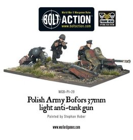 Bolt Action BA Polish Army: Bofors 37mm Anti-Tank Gun