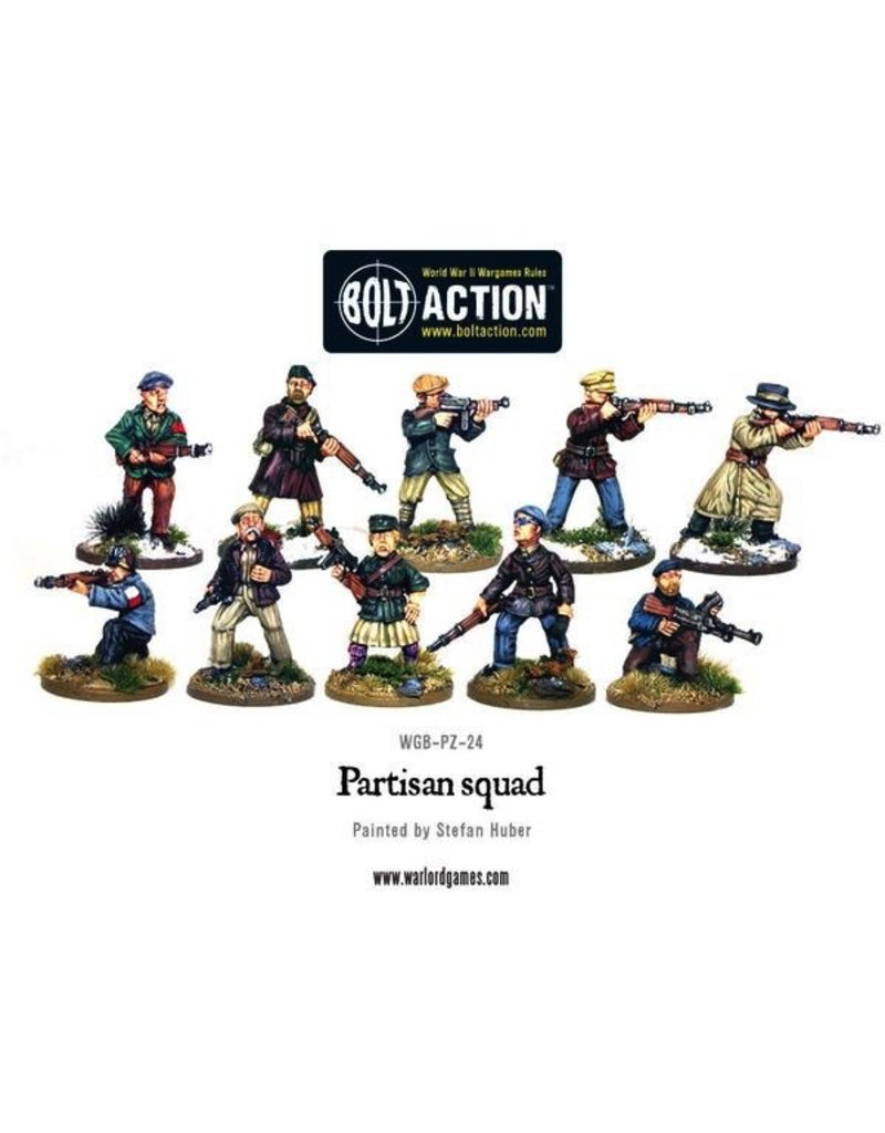 Bolt Action BA Partisans (8)