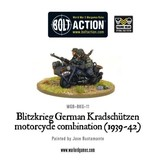 Bolt Action BA German Army: Blitzkrieg Kradschutzen Motorcycle Combination (1939-42)