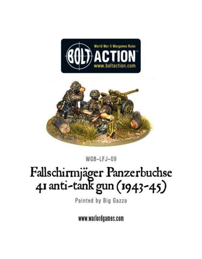 Bolt Action BA German Army: Fallschirmjager Panzerbuchse 41 Anti-Tank Gun