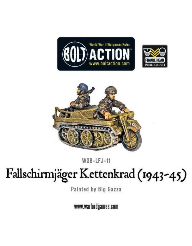 Bolt Action BA German Army: Fallschirmjager Kettenkrad (1943-45)