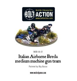 Bolt Action BA Italian Army: Airborne Breda Machine Gun Team