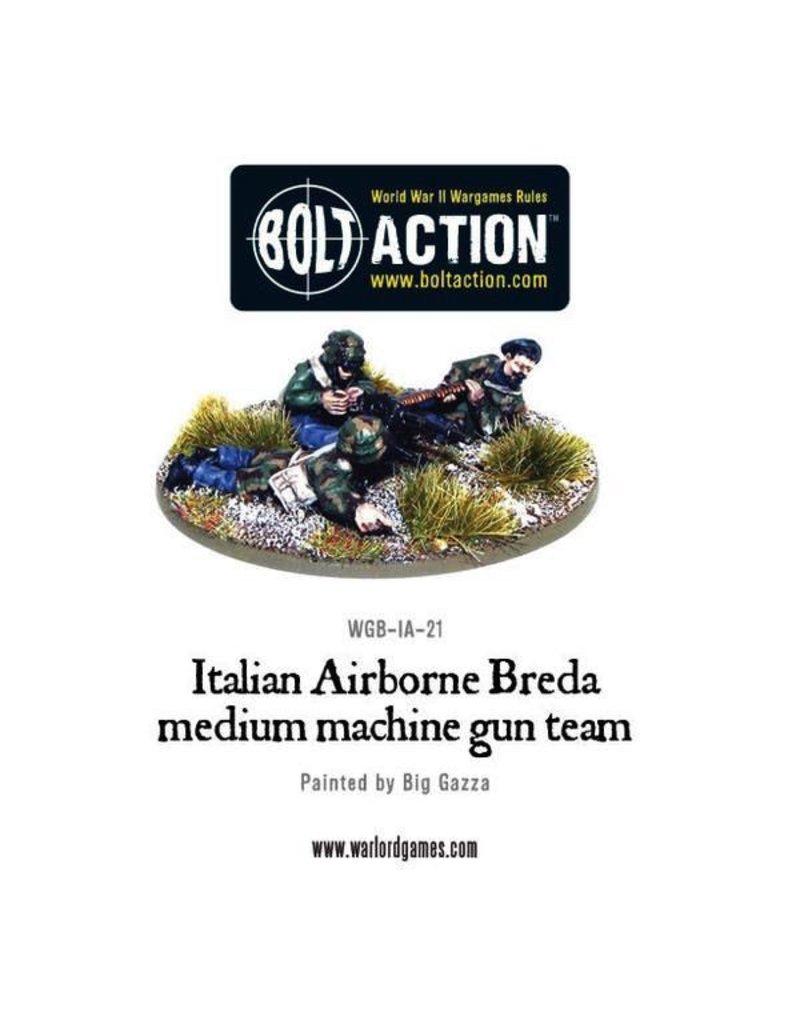 Bolt Action BA Italian Army: Airborne Breda Machine Gun Team