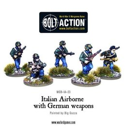 Bolt Action BA Italian Army: Airborne with German Weapons