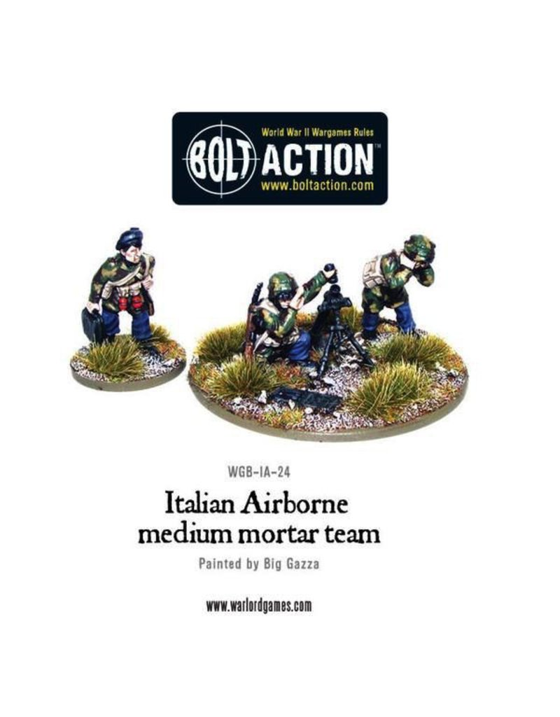 Bolt Action BA Italian Army: Airborne Medium Mortar Team