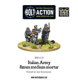 Bolt Action BA Italian Army: Medium Mortar Team