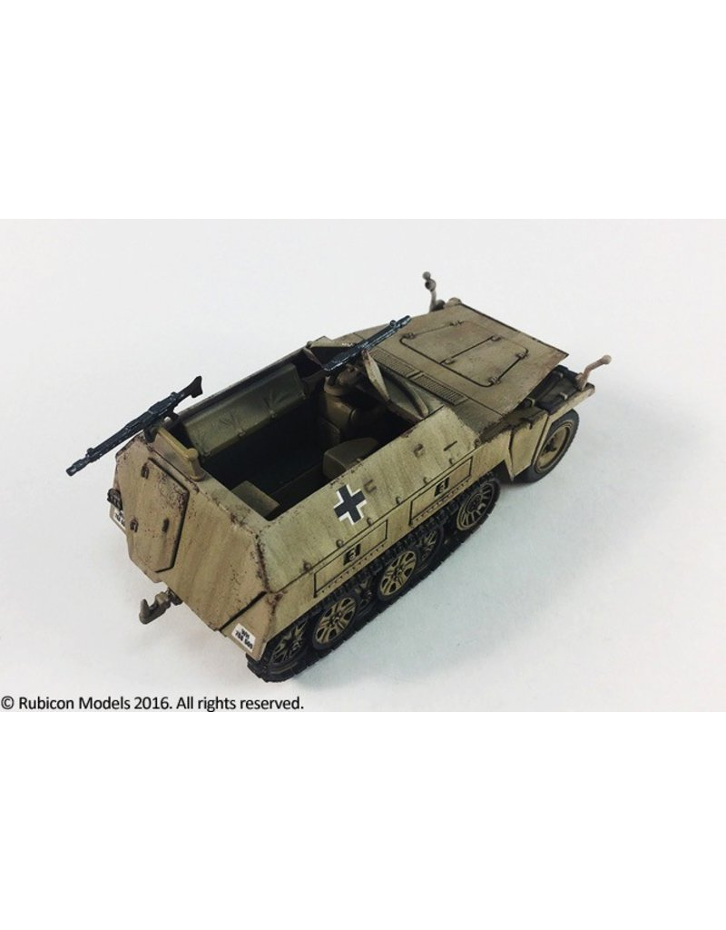 Rubicon Models DIRECT 28mm Rubicon Models: SdKfz 250/1 Neu