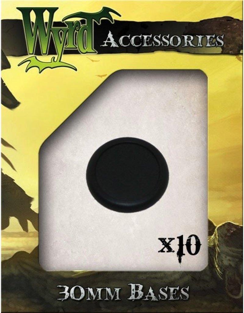 Wyrd miniatures WYR0017 Bases Round Lipped 30mm