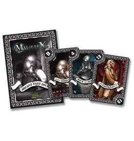 Wyrd miniatures WYR20012 Game Accessories: Black Arcane Fate Deck