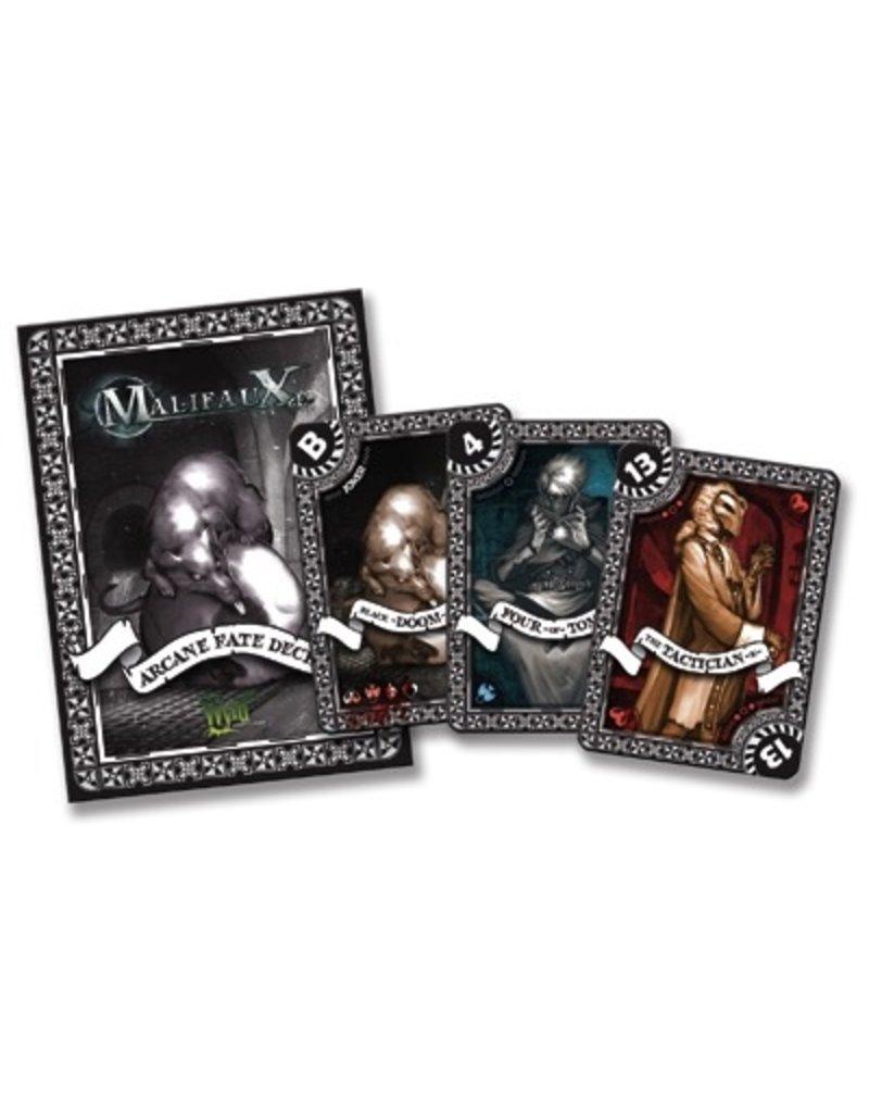 Wyrd miniatures WYR20012 Game Accessories: Black Arcane Fate Deck