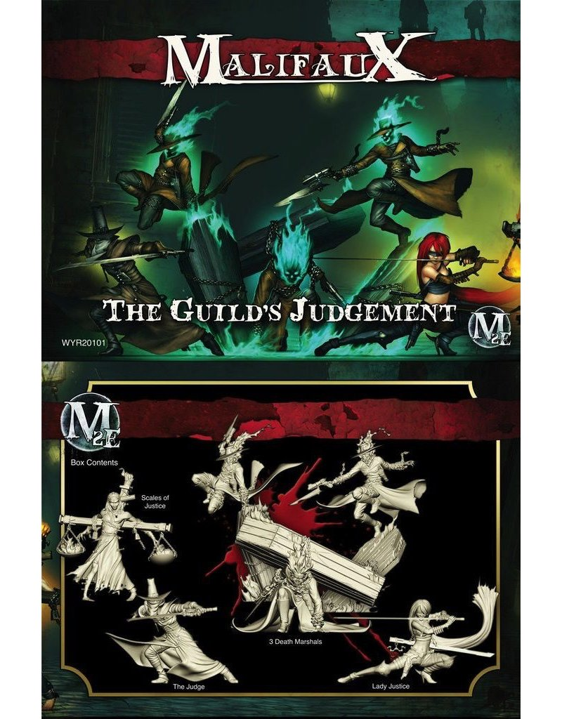 Wyrd miniatures WYR20101 Guild: The Guild's Judgement (Lady Justice Crew)