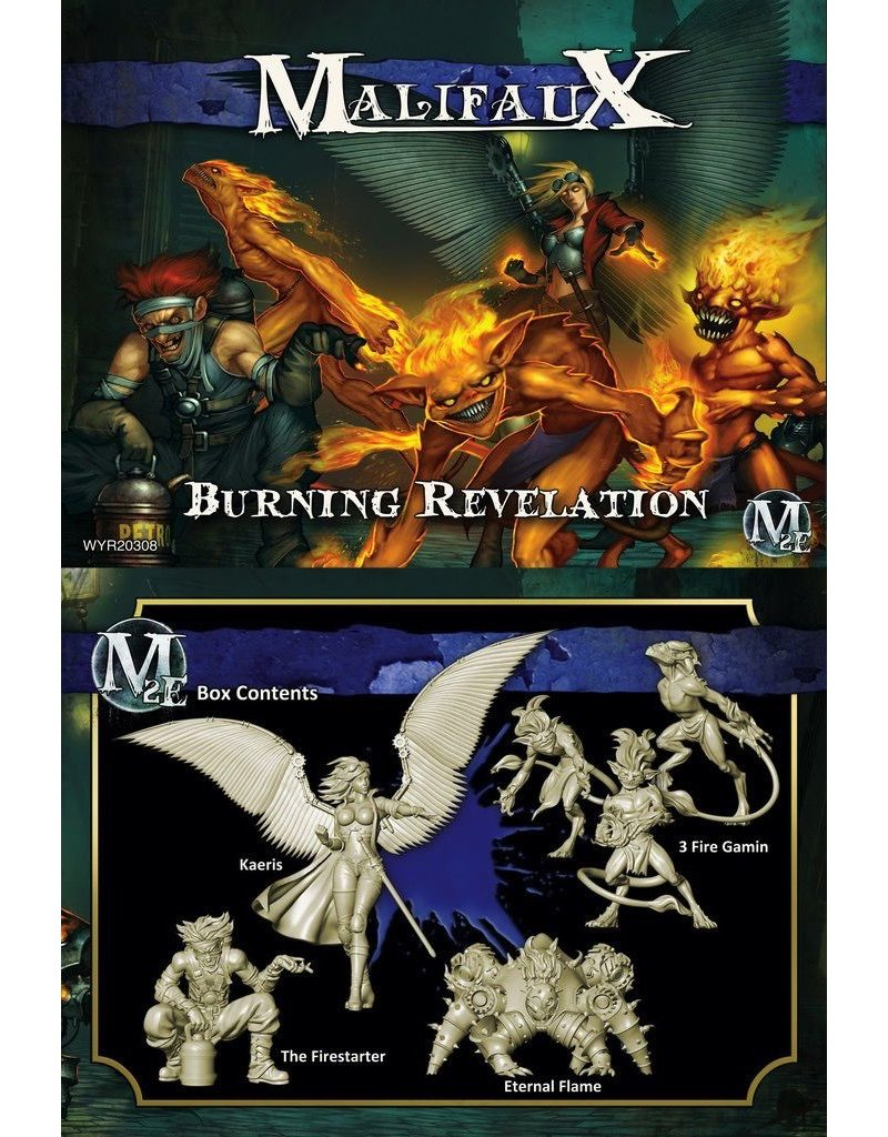 Wyrd miniatures WYR20308 Arcanists: Burning Revelation (Kaeris Crew)