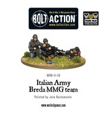 Bolt Action BA Italian Army: Breda Medium Machine Gun Team