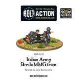 Bolt Action BA Italian Army: Breda Medium Machine Gun Team