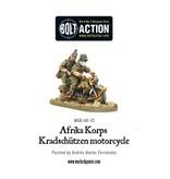 Bolt Action BA German Army: Afrika Korps Kradschutzen Motorcycle
