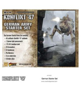 Bolt Action Konflikt 47 German Starter Army