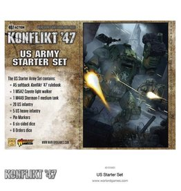 Bolt Action US Konflikt '47 Starter Set