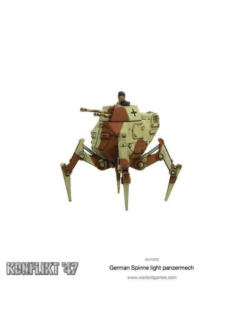 Bolt Action Spinne Light Panzermech