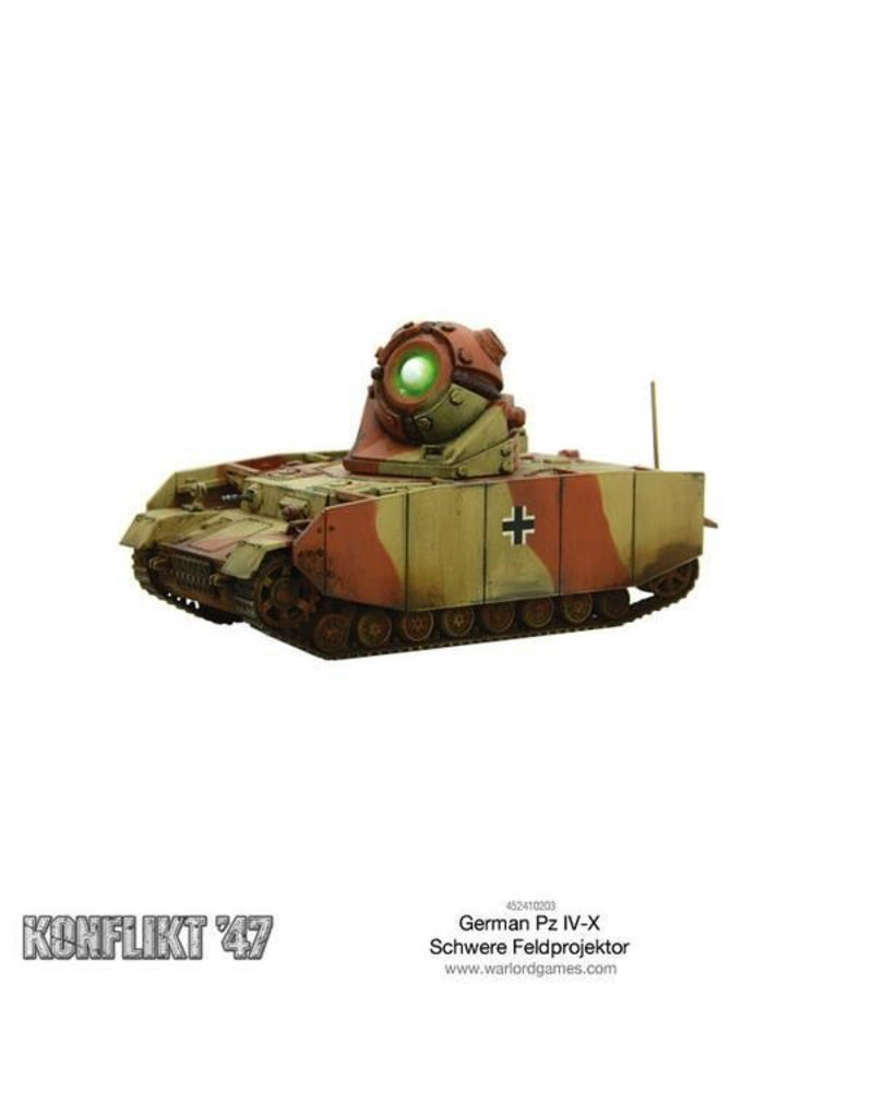 Bolt Action German Pz IV-X