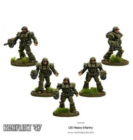 Bolt Action US Heavy Infantry Blister