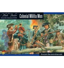 Warlord Games BP AWI: Colonial Militia Men (30)