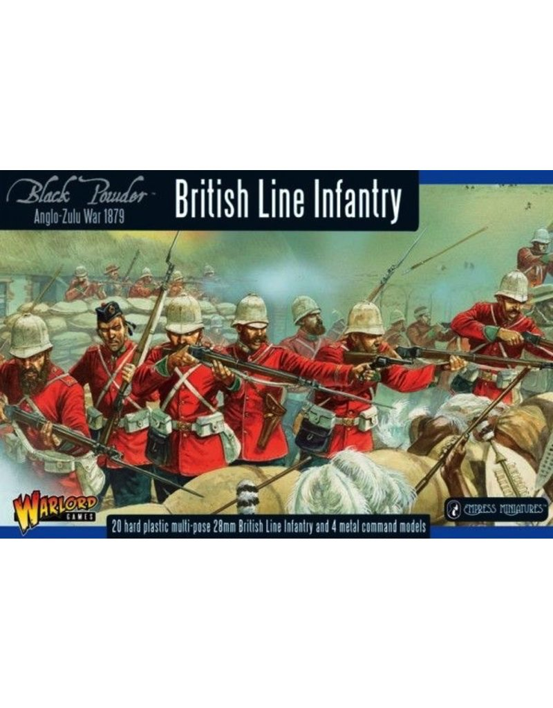 Warlord Games BP Anglo-Zulu War: British Infantry