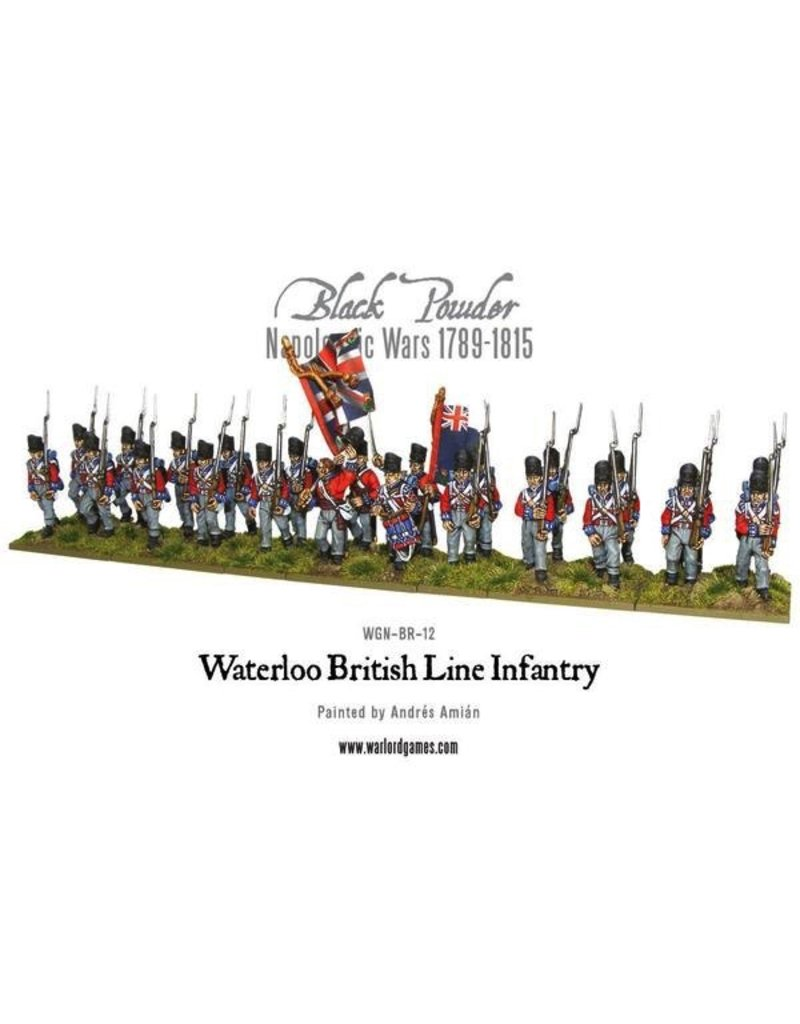 Warlord Games British Line Infantry (Waterloo) (24)