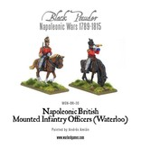 Warlord Games Napoleonic British Mounted Infantry Officers (Waterloo)