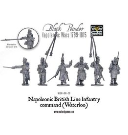Warlord Games Napoleonic British Line Infantry Command (Waterloo)