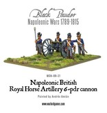 Warlord Games Napoleonic British Royal Horse Artillery 6-pdr Cannon