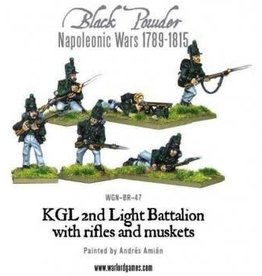 Warlord Games Napoleonic KGL 2nd Light Battalion with Rifles and Muskets