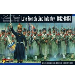 Warlord Games Napoleonic War Late French Line Infantry (1812-1815)