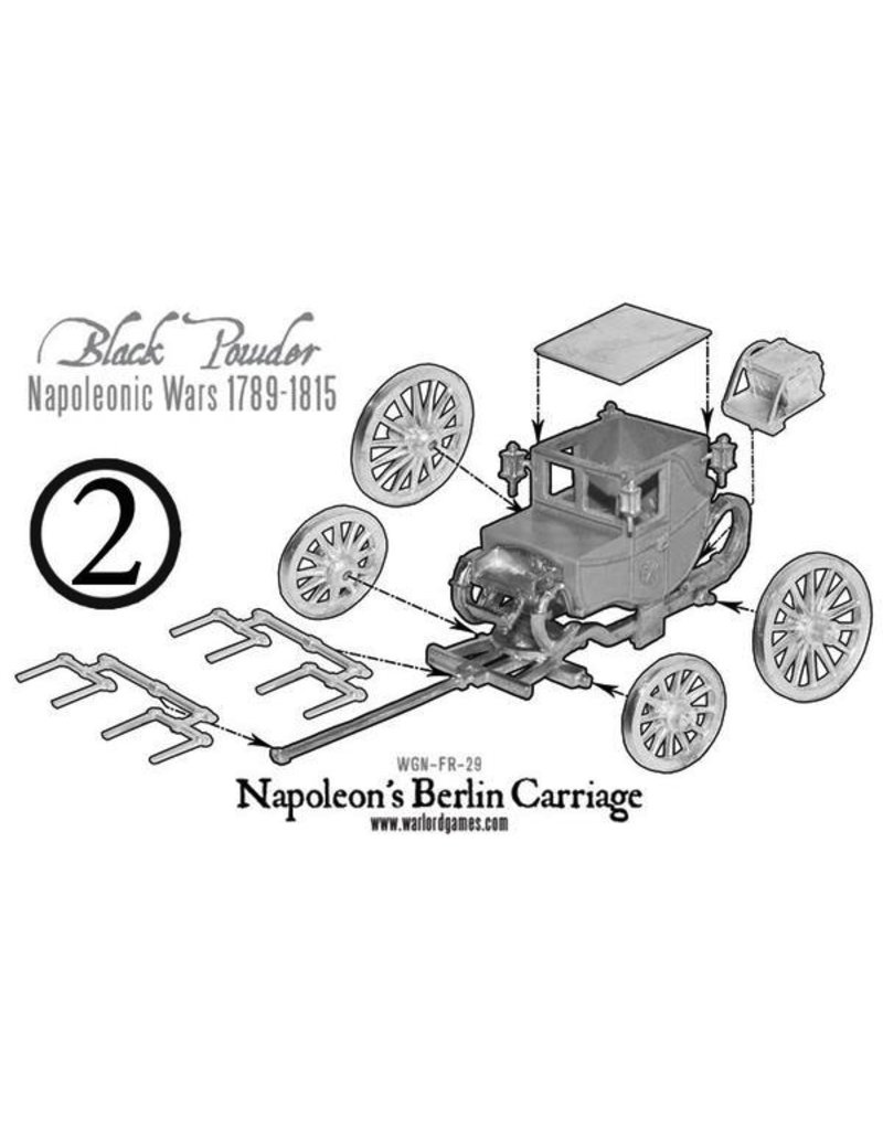 Warlord Games Napoleon's Berlin Carriage