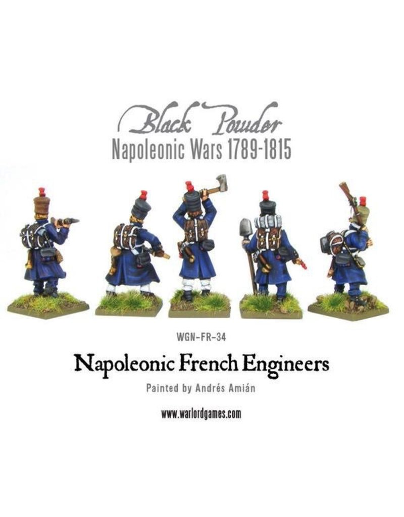 Warlord Games Napoleonic French Engineers
