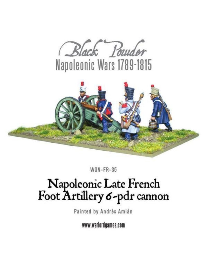 Warlord Games Napoleonic French 6 lbr Foot Artillery