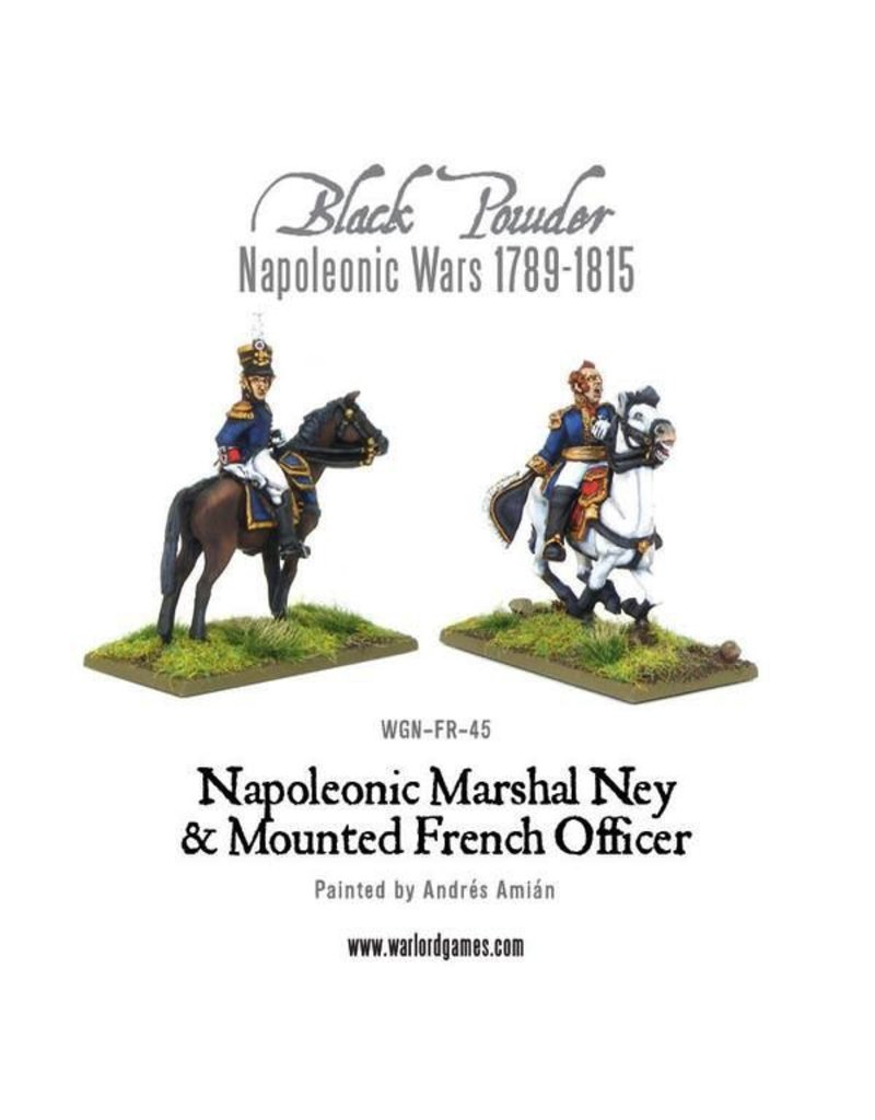 Warlord Games Napoleonic Marshal Ney & Mounted French Officer