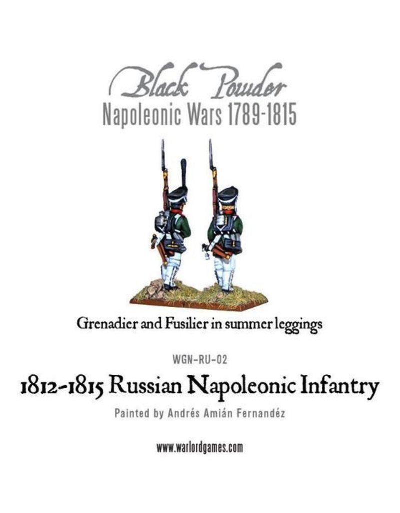 Warlord Games Napoleonic Russian Line Infantry (1812-1815)
