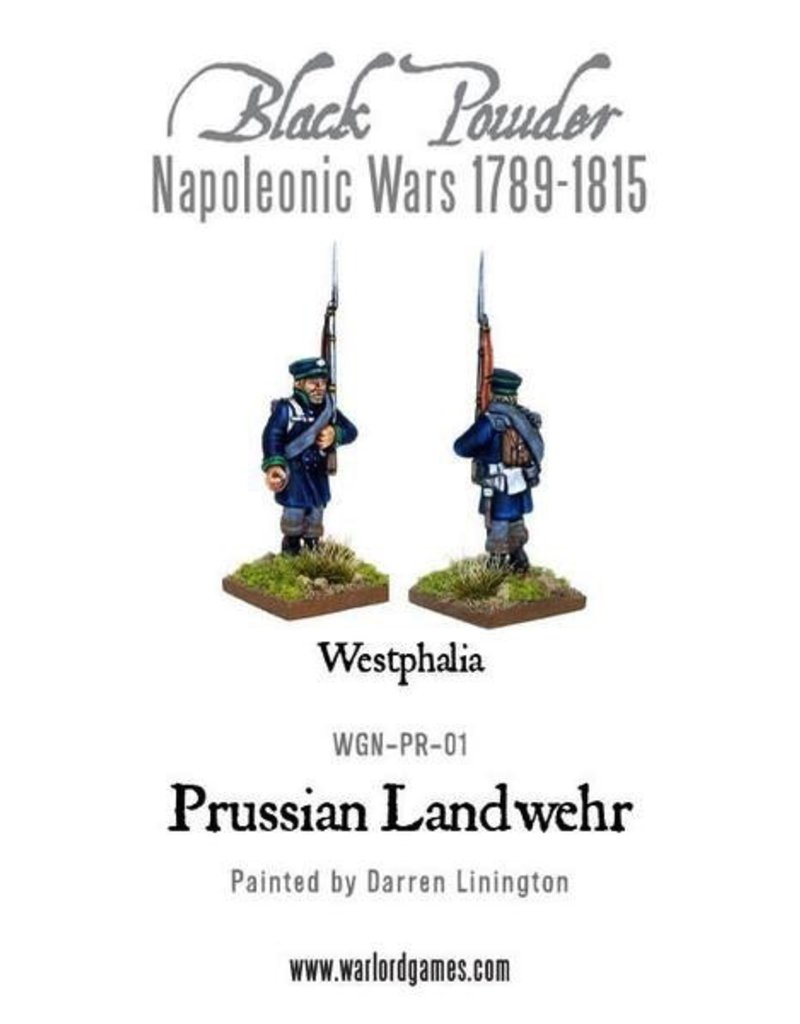 Warlord Games Napoleonic Prussian Landwehr (1789-1815)