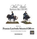 Warlord Games Napoleonic Prussian Landwehr Mounted Officers