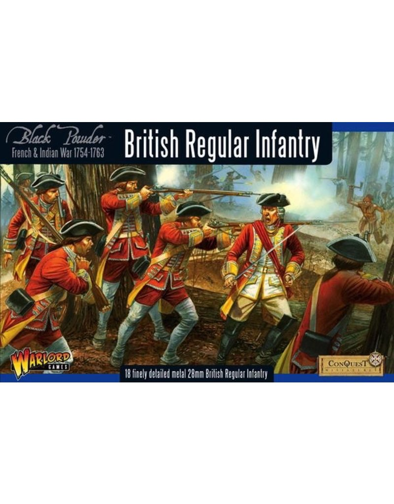 Warlord Games F&I British Regular Infantry