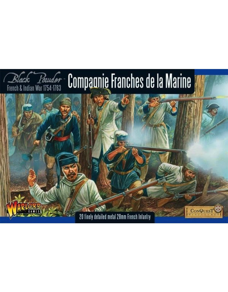 Warlord Games French-Indian War: Compagnie Franches de la Marine