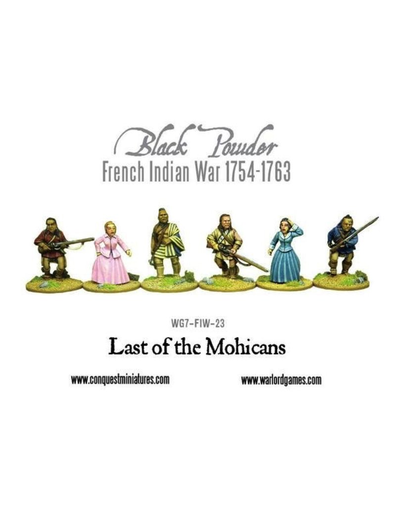 Warlord Games F&I Last of the Mohicans
