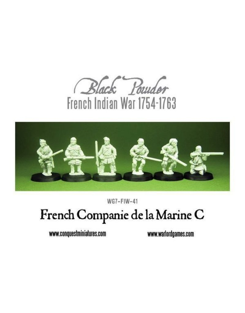 Warlord Games French Indian War - French Marines (6)