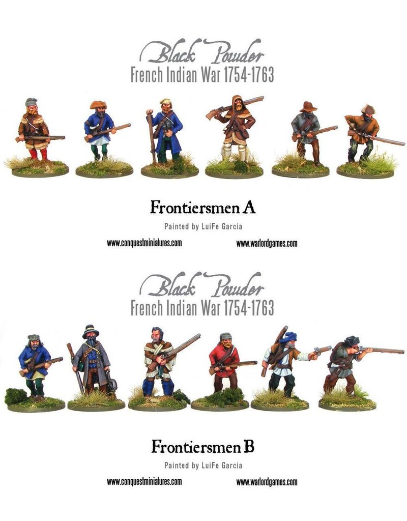 Warlord Games French Indian War - Frontiersmen