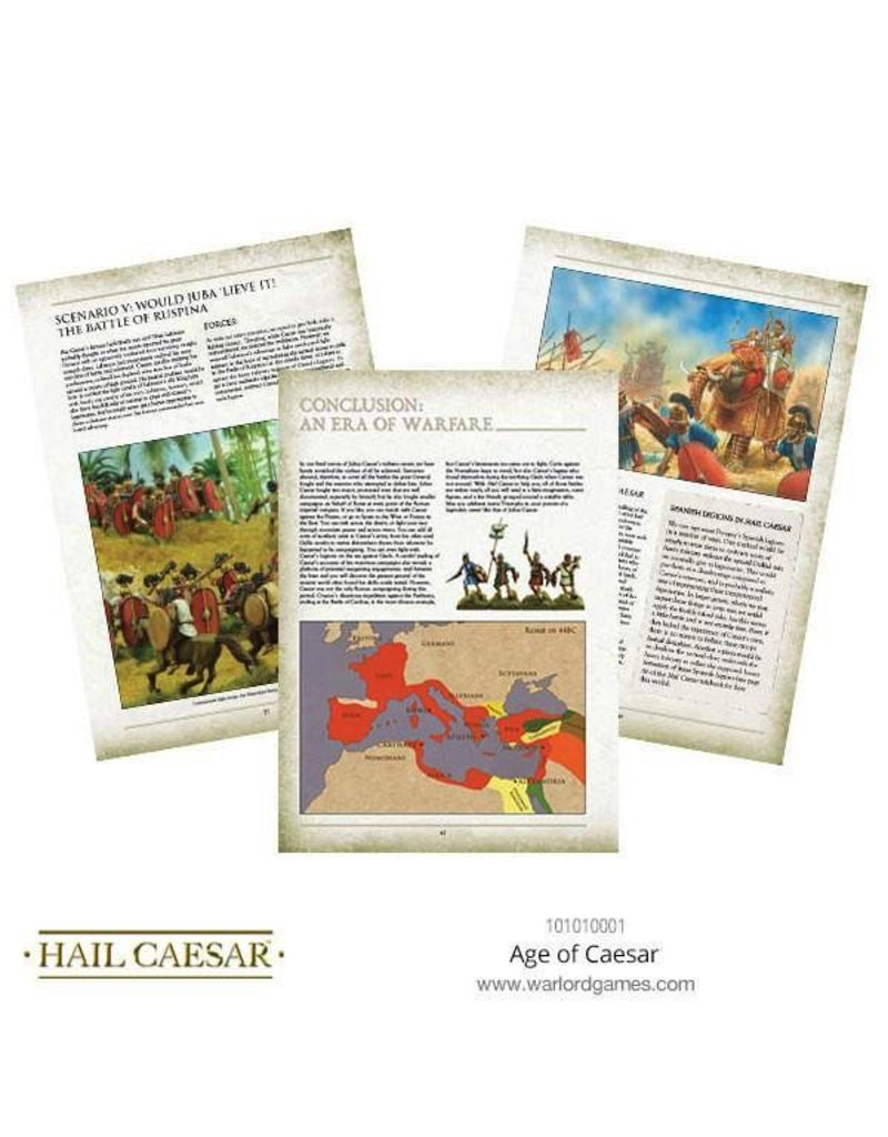 Warlord Games Hail Caesar: Age of Caesar Supplement