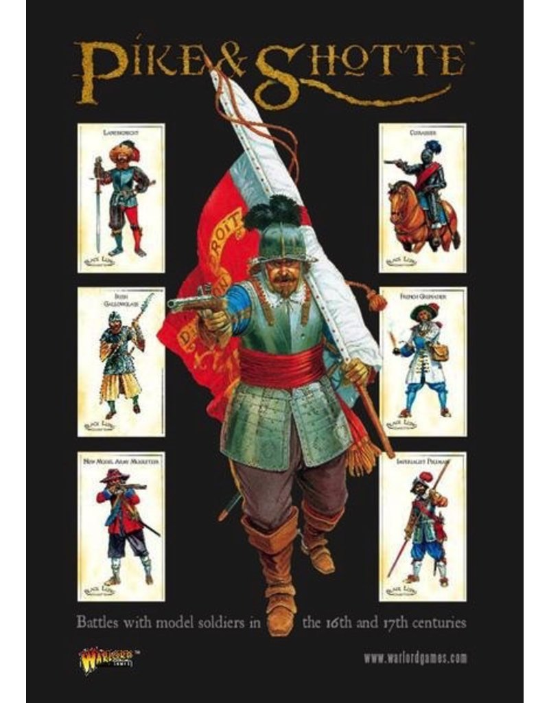 Warlord Games Pike & Shotte Rulebook